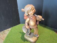 "Anri Ferrandiz TRACKER Figurine Woodcarving 6"""