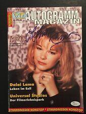 Lee Ann Rimes Autograph Signed Magazine JSA COA