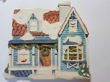 Vintage Brian Baker's Deja vu Collectible Wall Art Christmas House
