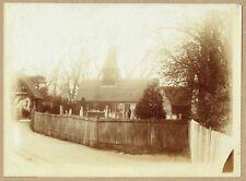 Street Scene, Foots Cray, Bexley, London  - Original 1890s Photograph.