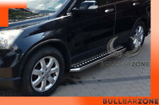 HONDA CRV III 2007+ MARCHE-PIEDS INOX PLAT / PROTECTIONS LATERALES