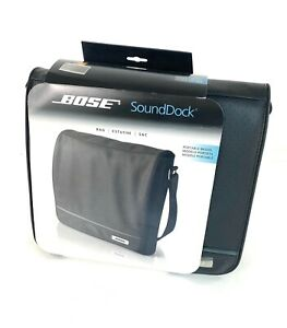 Bose SoundDock Portable Travel Bag Carrying Case with Shoulder Strap Black