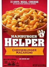 Lot 5 Boxes Betty Crocker Hamburger Helper Cheeseburger Macaroni, 6.6 oz Each