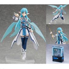 Anime Sword Art Online II SAO Asuna ALO Figma Action Figure Series 264