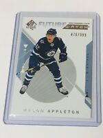 2018-19 SP AUTHENTIC FUTURE WATCH /999 MASON APPLETON 237