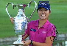 Lydia Ko, New Zealand golfer, LPGA Tour, signed 12x8 photo. COA.