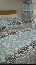 Catherine Lansfield Studio Ombre Damask 66x72 Eyelet Curtains CHEAPEST ON EBAY