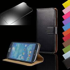 Wallet Handy Tasche Flip Case Etui für Samsung Galaxy + Glas Triton Panzer Folie