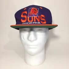 NBA official License Vintage Phoenix Suns Basketball Snap Back Hat Dead Stock!
