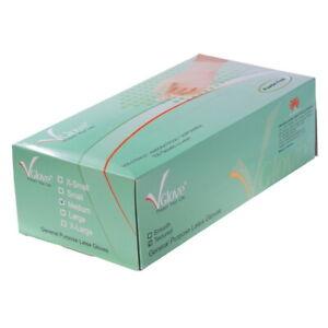 Latex Handschuhe puderfrei nicht steril, CE Zertifizierung, 1 Packung = 100 Stk.