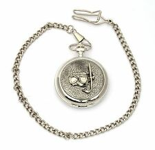 Diving Mask Pocket Watch Gift Boxed With FREE ENGRAVING Diving Gift