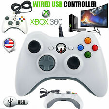 PC Game Controller for Xbox 360 & PC Windows USB Long Wired Controller Gamepad
