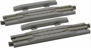 "KATO 20-026 124mm 4 7/8"" Rerailer Track S124C 2 pieces N Scale"
