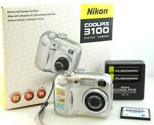 Nikon Coolpix E3100 Digital Camera - AA battery powered. rechargeable.  BOXED