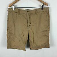 Ralph Lauren Mens Shorts 36 Khaki Brown Chino Pockets