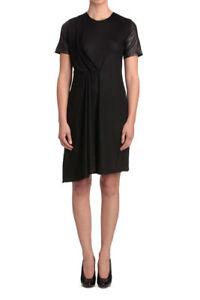 YTTRIUM BY AURELIO COSTARELLA Short Sleeve Gathered Front Dress Size 3 RRP $199