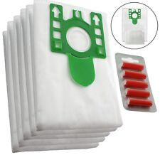 5 x U Type Hyclean Vacuum Cleaner Bags For MIELE Hoover Dust Bag S7260 + Fresh