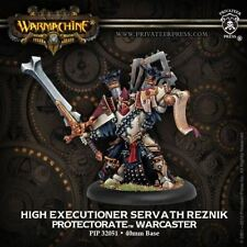 WARMACHINE Protectorate of Menoth PIP32051 High Executioner Servath Reznik NEW
