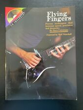 Guitar Technique Book Flying Fingers By Dave Celentano with CD - NEW