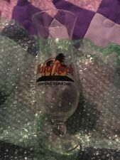 Hard Rock Cafe SURFERS PARADISE Hurricane Glass w/ Classic HRC Logo & Palm Trees