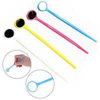 1 Stk Kunststoff Mundspiegel Zahnarzt Zahnreinigung Inspektion Hygiene Y BOD