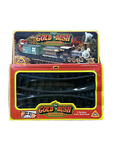 The Gold Rush Denver Express Train Track Pack RARE New In Box - Complete