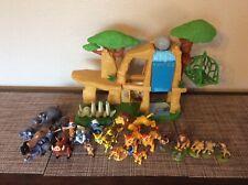 Disney Lion King Guard Defend Pride Rock Lands Playset Set HUGE LOT OF FIGURES