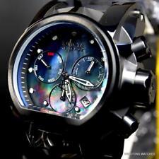 Invicta Reserve Bolt Zeus Magnum Black Mother of Pearl 52mm Swiss Mvt Watch New