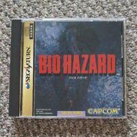 Biohazard Sega Saturn Japan Import