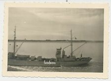 Foto  Kriegsmarine-Schiff    2.WK (D111)