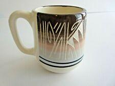 Southwestern Navajo Signed Johnson Etched Design Ceramic Coffee Mug Cup