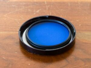 Hoya 62mm 80B Blue Filter for B&W (Black and White) - Clean and Clear Glass