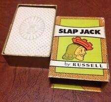 Vintage 1935 Slap Jack By Russell Card Collector Kids Crafts Games  VTG Graphics