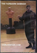 Carl Cestari THE FAIRBAIRN SEMINAR DVD Martial Arts Self Defense Judo MMA Boxing