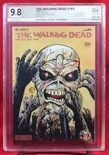 WALKING DEAD #163 PGX (not CGC) 9.8 NM/MT Original Sketch Cover by FLOYD!!!