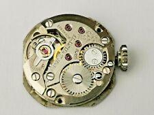 Tissot Cal 709-2 Ladies 17 Jewel Watch Movement + Dial, Hands & Crown