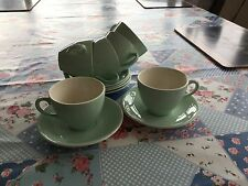 Vintage Alfred Meakin Coffee Cups And Saucers X 6