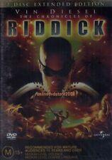 The Chronicles of Riddick - Vin Diesel Judi Dench Thandie Newton (2 Dvd Set) New