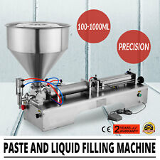 110V Pneumatic Paste and Liquid Filling Machine 100-1000ml For Shampoo Oil