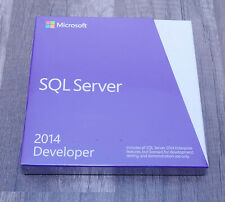 BRAND NEW Microsoft SQL Server 2014 Developer E32-01098 genuine