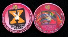 $5 Las Vegas Palms Playboy X-Treme Team Casino Chip - Uncirculated