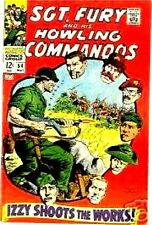 SGT FURY 54 SERGEANT & HIS HOWLING COMMANDOS 1963 MARVEL F NICK AGENT OF SHIELD