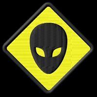 Alien Parche bordado iron-on patch