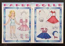 Sonja Henie Doll Magazine Paper Doll,1997, By Loraine Morris