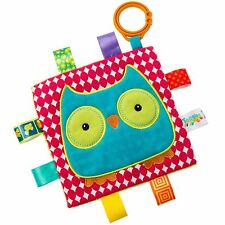 TAGGIES Crinkle Owl Colourful Crinkle Soother Buggy/Stroller Toy by Mary Meyer