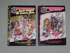 BOOKS HC Monster High Ghoulfriends LOT of 2 (#1, #2)