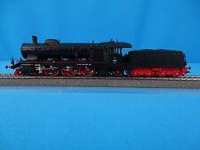 Marklin 3614 K. W. Sts. E. Steamer with Tender Württemberger Br C Black  Digital