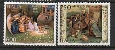 ITALY MNH 1990 SG2107-2108 CHRISTMAS