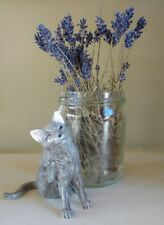 John Beswick gray Cat Pawing. New