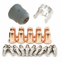 Alffun 22pcs IPT-60 PT-60 IPT-40 PT40 Plasma Cutting Torch Consumables